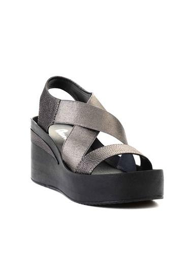 Bambi Spor Sandalet Gümüş